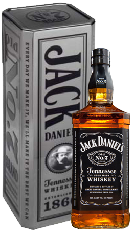 Jack Daniel S Black 40 1 0l Tin Home Diplomatic