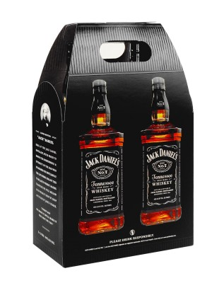 Black Label Price >> Jack Daniel's Twin Pack 40% 2x1.0L | Home – Diplomatic Supply service – online duty free shop ...
